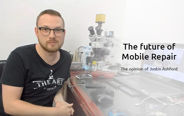 Justin Ashford from the art of repair about the future of Repair