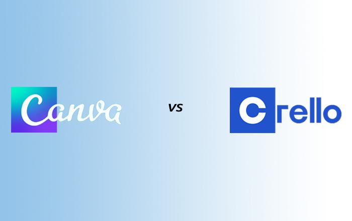 Canva VS Crello - free graphic design programs