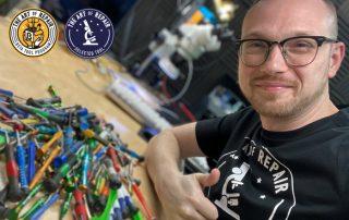 Justin Ashford The Art of Repair Tools