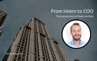 From intern to COO, Mark von Rotz, Mobileparts.shop