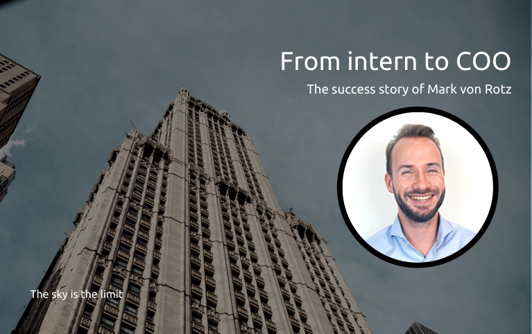 From intern to COO, Mark von Rotz, Mobileparts.shop